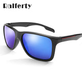 Ralferty Hd Polarized Sunglasses Men Driver Glasses Blue Mirror Square Uv400 K1037