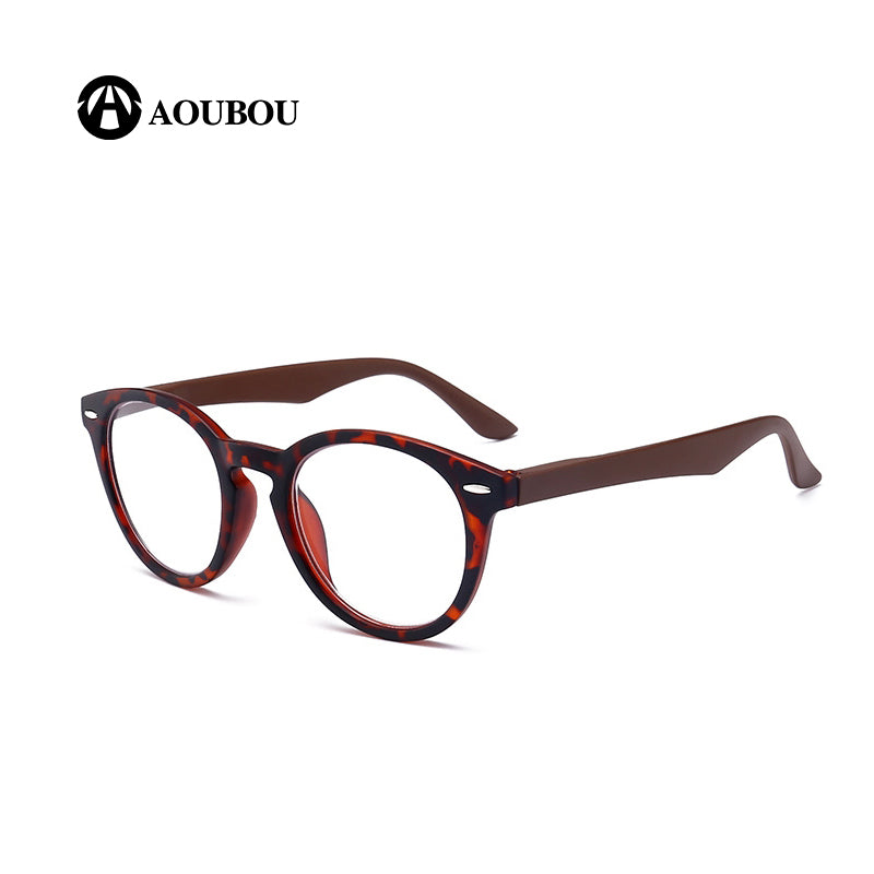 Aoubou Brand Unisex Top Rice Nail Pc Full Frame Reading Glasses Hd Spring Foot Wire +1.00 +1.50 +2.00 +2.50 +3.00 +3.50 +4.00