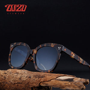 20/20 Brand Fashion Unisex Polarized Sunglasses Men Acetate Classic AT8048