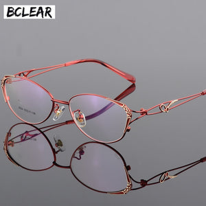 BCLEAR High Quality Popular Women Eyeglasses Full Frame Eye Optical Glasses S2834