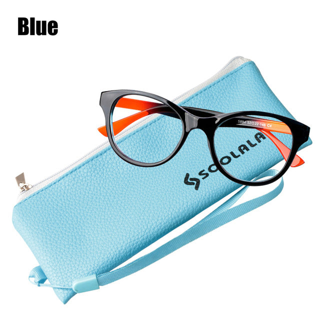 Soolala Brand Women's Oversized Tr90 Reading Glasses Clear Frame Anti Radiation Computer Glass 0.5 To 4.0 Presbyopic