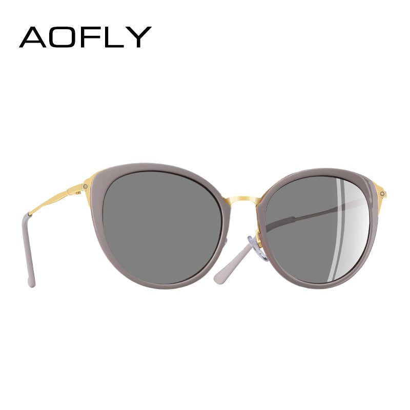 Aofly Brand Design Polarized Sunglasses Women Cat Eye A131