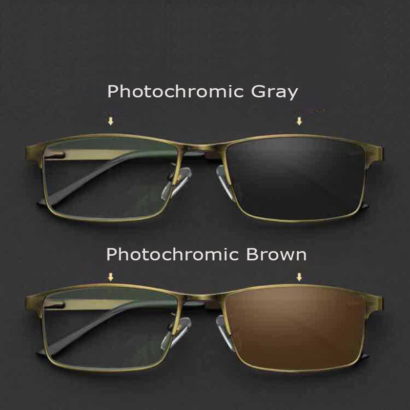 Photochromic Reading Glasses Men Anti-Blue Rays Diopter Presbyopic Eyeglasses For Male Eyewear +1.0+1.5+2.0+2.5+3.0+3.5 Rs731
