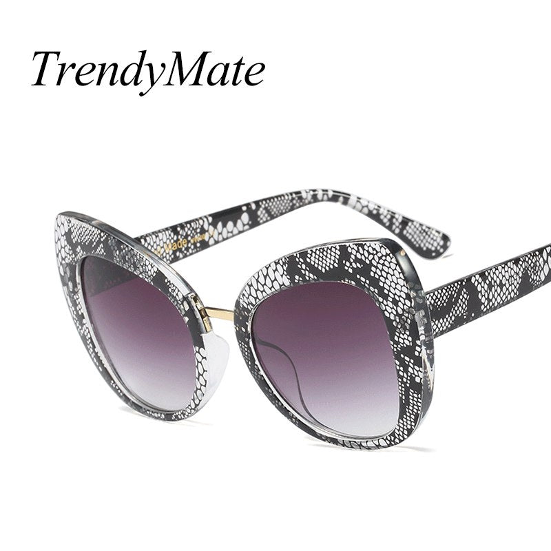 Trendymate Retro Cat Eye Sunglasses Women Fashion Glasses 5334M