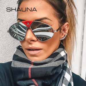 Shauna Pu Polarized Sunglasses Women Mirror Men Sh6131