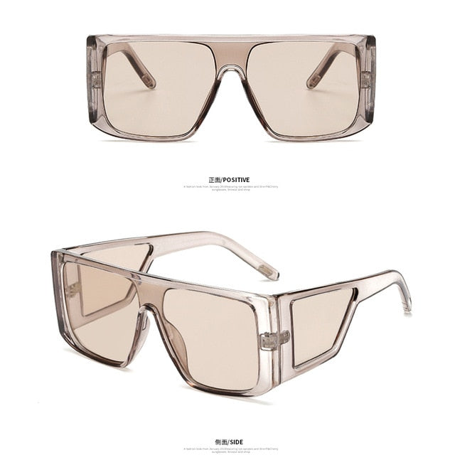 Long Keeper Oversized Square Sunglasses Men Women 2019 Full Frame Shield C-Am6935