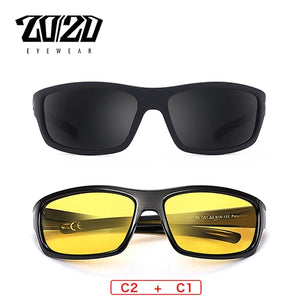 20/20 Polarized Sunglasses Men Square 2020