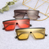 Jackjad Fashion Modern Square Shield Style Sunglasses Men Women Cool 20039