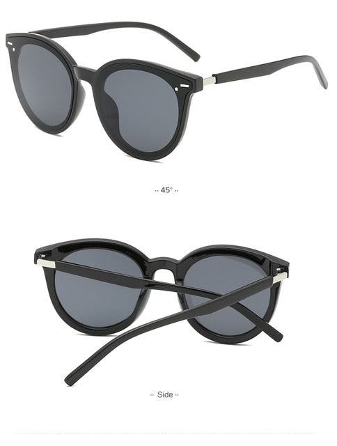 Sunglasses Women Vintage Cat Eye Women Sunglasses Girl Oversized 3793