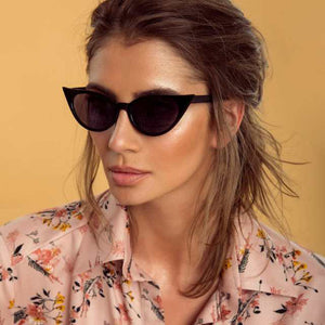 Cool Personality Street Fashion Vintage Cat Eye Sunglasses Women Cute Sexy Goggles