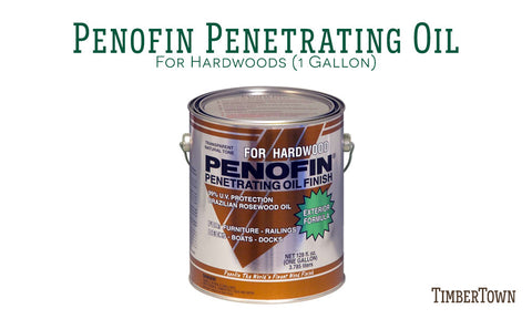 Penofin Penetrating Oil For Hardwoods Gallon