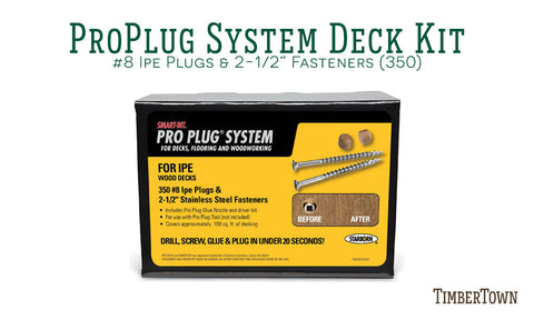 Pro Plug System for Wood Ipe (350)