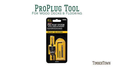 Starborn Pro Plug Tool for Wood