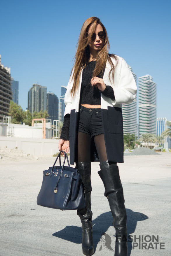Fashion Pirate Blog - One big coat is all you need-11