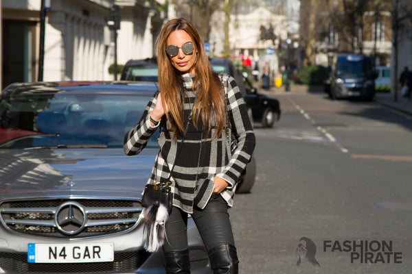 Fashion Pirate Blog - Black cabs, wide streets