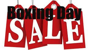 Boxing Day Sale - Save Up To 20% Off