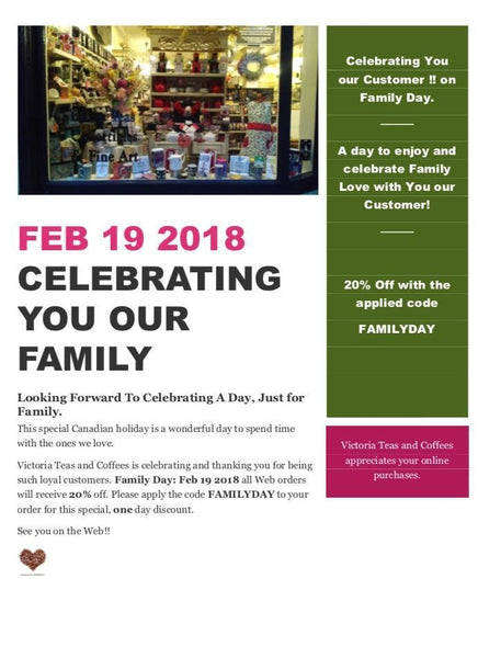 Celebrating YOU, Our Family This Family Day