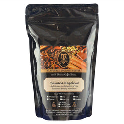 Banana Hazelnut Gourmet Flavoured Coffee 1/2 lb