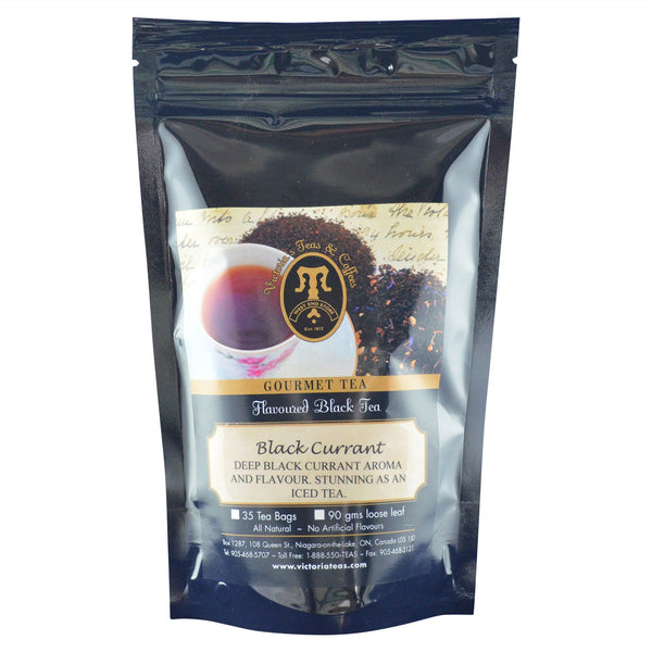 Black Currant Flavoured Black Loose Leaf Tea