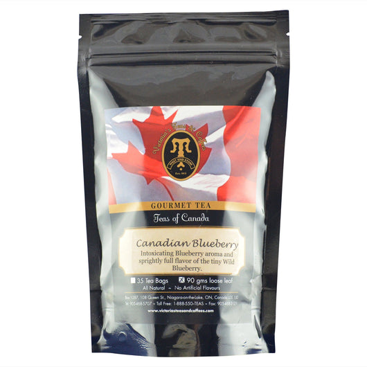 Canadian Blueberry Canadian Blend Loose Leaf Tea