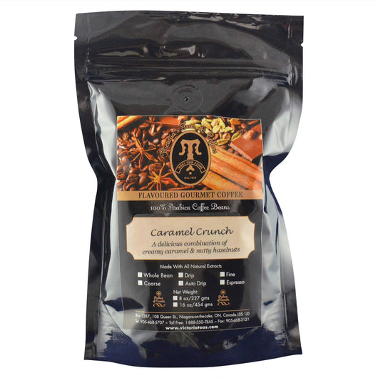 Caramel Crunch Gourmet Flavoured Coffee 1/2 lb