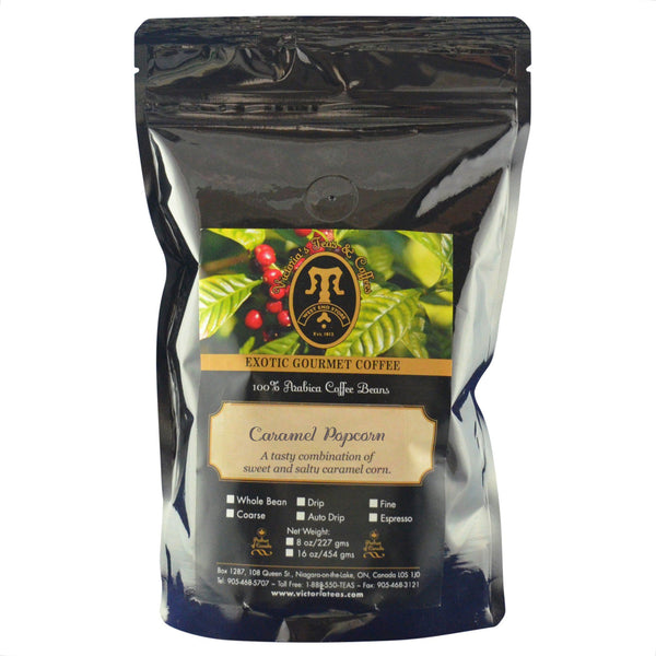 Caramel Popcorn Exotic Flavoured Coffee 1/2 lb