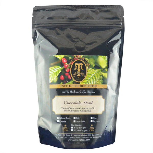 Chocolate Stout Exotic Flavoured Coffee 1/2 lb