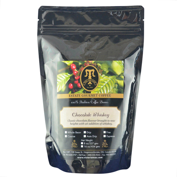 Chocolate Whiskey Exotic Flavoured Coffee 1/2 lb