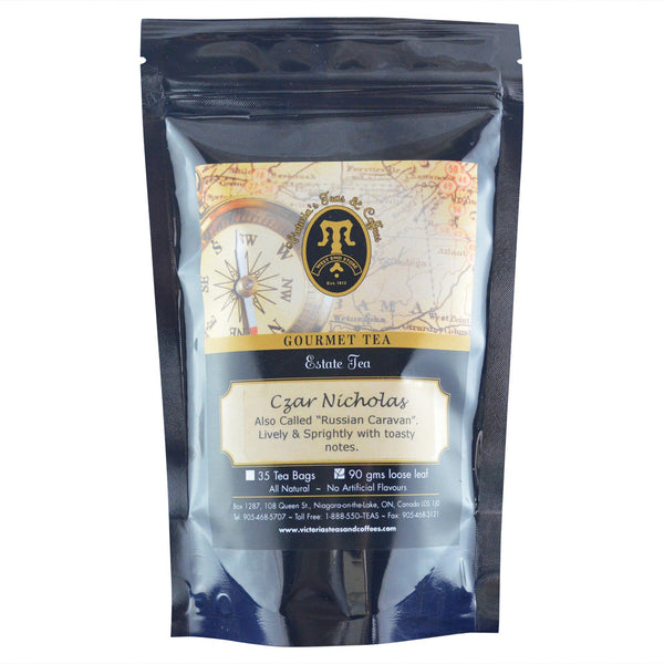 Czar Nicholas Estate Black Loose Leaf Tea