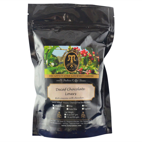 Decaf Chocolate Lovers Flavoured Decaf Coffee 1/2 lb
