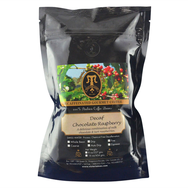 Decaf Chocolate Raspberry Flavoured Decaf Coffee 1/2 lb