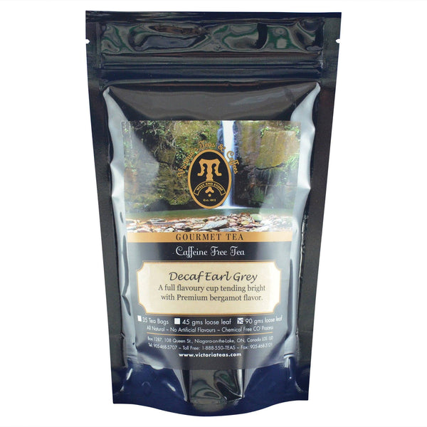 Decaf Earl Grey Decaf Loose Leaf Tea 90g