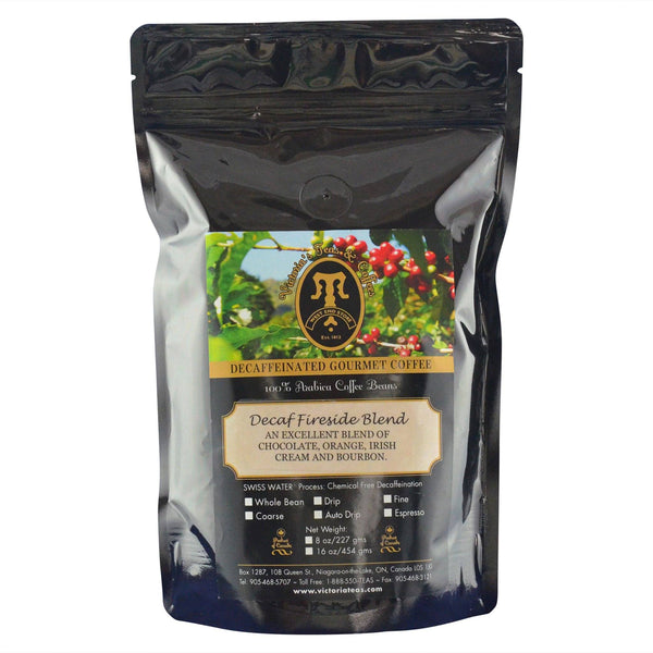 Decaf Fireside Blend Flavoured Decaf Coffee 1/2 lb