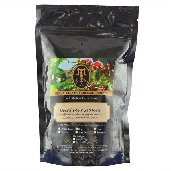 Decaf Four Seasons Flavoured Decaf Coffee 1/2 lb