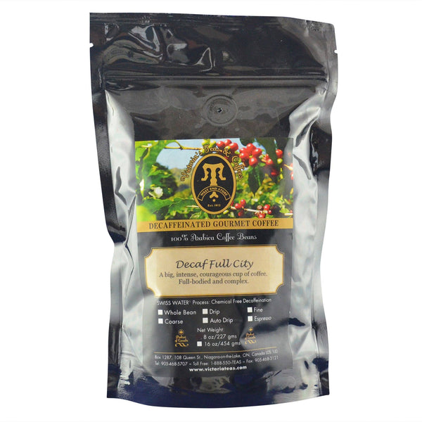 Decaf Full City Non Flavoured Decaf Coffee 1/2 lb