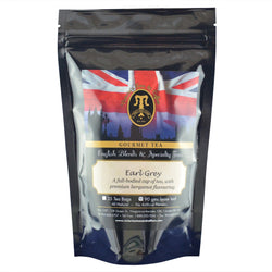 Earl Grey English Loose Leaf Tea Blend 90g