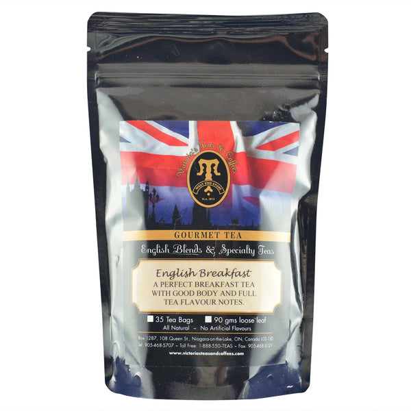 English Breakfast English Loose Leaf Tea Blend 90g