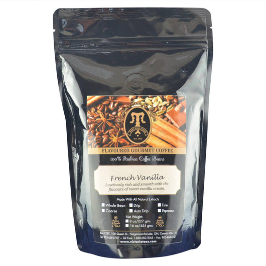 French Vanilla Gourmet Flavoured Coffee 1/2 lb