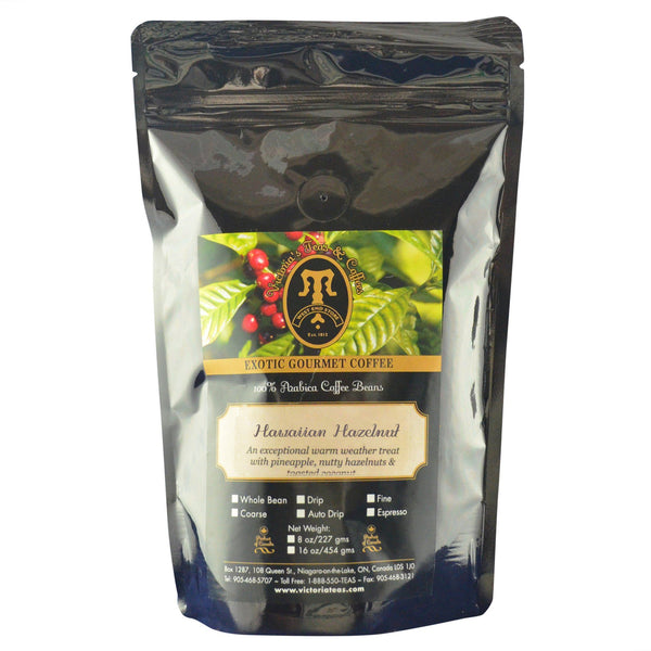 Hawaiian Hazelnut Exotic Flavoured Coffee 1/2 lb