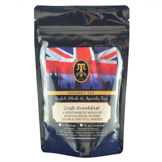 Irish Breakfast English Loose Leaf Tea Blend 90g
