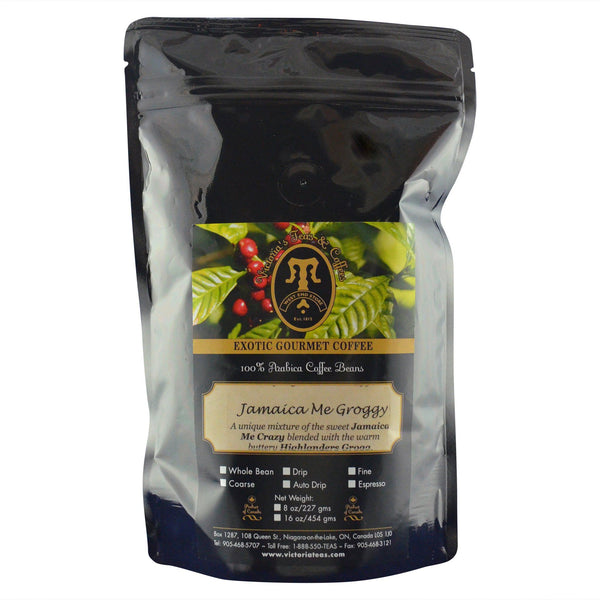 Jamaica Me Groggy Exotic Flavoured Coffee 1/2 lb