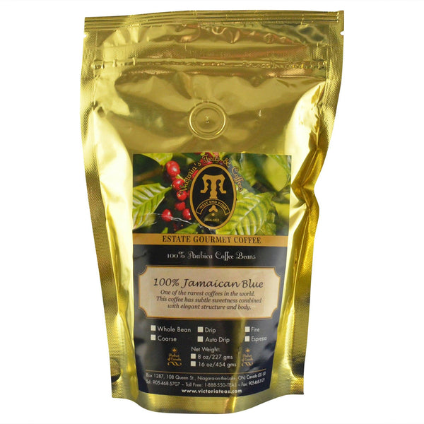 Jamaican Blue Mountain 100% Estate Coffee 1/2 lb