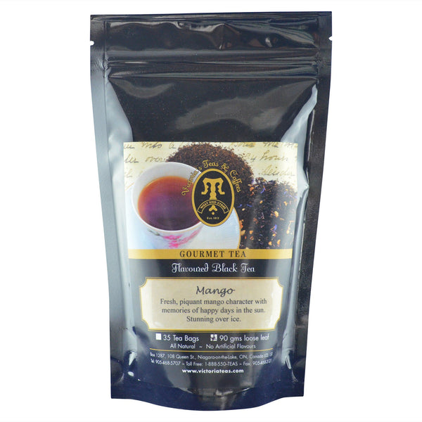 Mango Flavoured Black Loose Leaf Tea