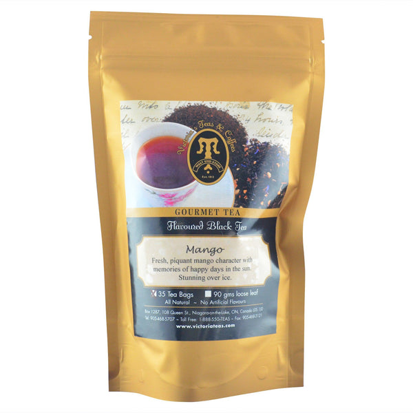 Mango Flavoured Black Tea Bags