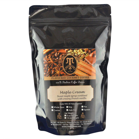 Maple Cream Canadian Flavoured Coffee 1/2 lb