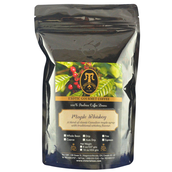 Maple Whiskey Exotic Flavoured Coffee 1/2 lb
