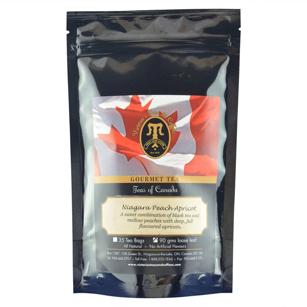 Niagara Peach Apricot Canadian Blend Loose Leaf Tea