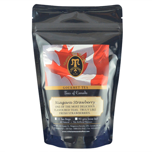 Niagara Strawberry Canadian Blend Loose Leaf Tea