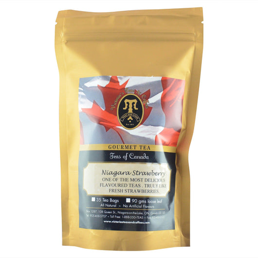 Niagara Strawberry Canadian Blend Tea Bags