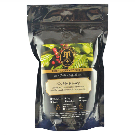 Oh My Henry Exotic Flavoured Coffee 1/2 lb
